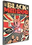 Instabuy Poster Black Mirror Vintage 02 - A3 (42x30 cm)