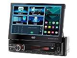 Trevi MDV 6380 DAB Sistema Car Video con Display Touch da 7', Ricevitore Digitale DAB/DAB+ / FM, Mp3, USB, SD, Aux-IN, Android Mirror Link, Ingresso Videocamera Parcheggio, Frontalino Estraibile