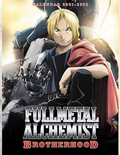 Fullmetal Alchemist: Brotherhood Calendar 2021-2022: Special Calendar & Planner for Fans (2 Years Calendar)