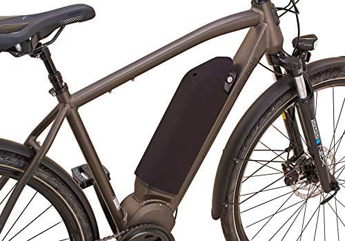 Prophete Unisex– Erwachsene Akku-Schutzhülle für AEG Downtube aus Neopren-Material, zum Schutz vor Wasser und Schmutz, schwarz, One Size