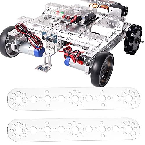 Placa de Aluminio, Calidad de Aluminio Conector de Acoplamiento de Eje de Piezas de Aluminio para tetrixrobotics Robot Accesorios