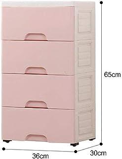 NMBD Accessoires de Bureau Finition en Plastique Cabinet Armoire Bureau Accueil tiroirs Armoire de Rangement HUYP (Couleur...