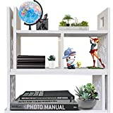 YGYQZ Office Desk Shelf Organizer and Accessories - Desktop Supplies Cute...