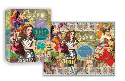 Alice In Wonderland Puzzle: 500-Piece Puzzle