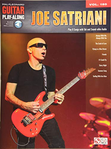 Joe Satriani: Guitar Play-Along Vol. 185