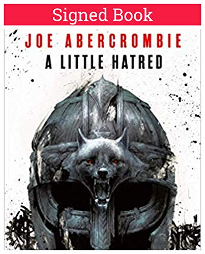 A Little Hatred (Age of Madness) AUTOGRAPHED Joe Abercrombie (SIGNED BOOK) COA