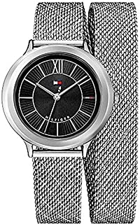 Tommy Hilfiger Women's Black Stainless Steel Casual Watch - 1781855