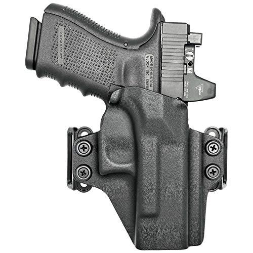 Concealment Express OWB Belt Loop KYDEX Holster fits Sig Sauer P320 Compact/Carry   Ambidextrous   Black