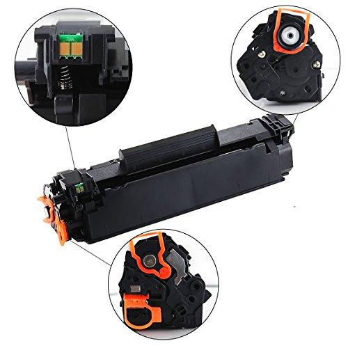 V4INK 3 Packs Compatible Canon 128 Toner CE278A 78A Toner Cartridge for Canon imageclass D550 D530 MF4770n MF4570dw FaxPhone L100 L190, MF4770N MF4450, Laserjet P1606dn P1566 P1560 M1536dnf Photo #8