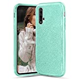 TVVT Compatible avec Huawei Nova 5T Coque, Paillette Bling Glitter Étincelant Couleur Unie de Étui...