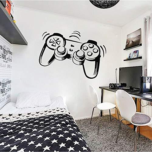 WERWN Controlador de Juego Pared Arte Pegatina calcomanía niño habitación de niños Vinilo Mural decoración de habitación Familiar