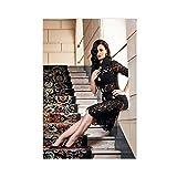 Sängerin Katy Perry 27 Leinwand-Poster, Schlafzimmer,