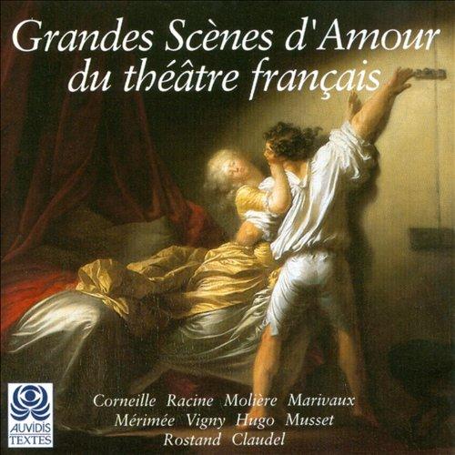 Couverture de Grandes scènes d'amour du Théâtre Français
