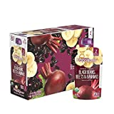 Happy Baby Organic Clearly Crafted Stage 2 Baby Food Black Bean, Beets & Bananas, 4 Ounce Pouch...