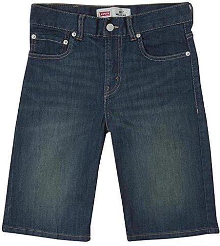 Levi's Jeans Shorts für Jungen Jeanshose Kurze Hose Sommer (10 Jahre, blau)