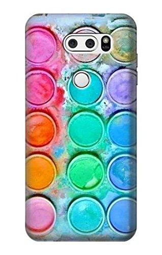 R3235 Watercolor Mixing Case Cover For LG V30, LG V30 Plus, LG V30S ThinQ, LG V35, LG V35 ThinQ
