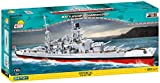 COBI COBI-4818 Battleship Scharnhorst Toys, grau, rot, schwarz