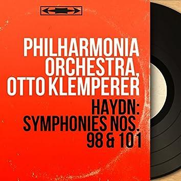 Haydn: Symphonies Nos. 98 & 101 (Mono Version)