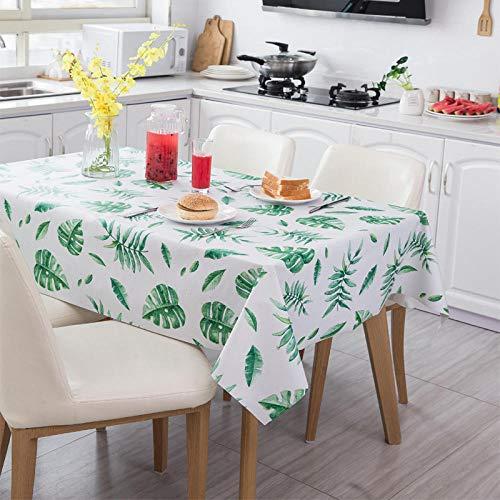 XLLJA Mantel de PVC Estera de Escritorio Impermeable Anti-escaldado Resistente al Aceite Mantel-Flower_110 * 137cm,Manteles de Mesa de Estilo Moderno para Mesa de Comedor Cocina Jardin y Bar