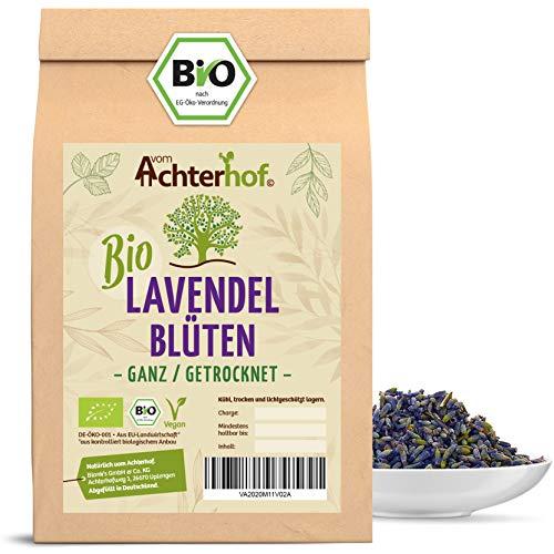 Lavendelblüten Bio Lavendel getrocknet (500g) aus Frankreich als Bio-Lavendel-Tee oder Gewürz vom-Achterhof