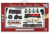 WowToyz Classic Train Set - 40 Piece with Steam Engine