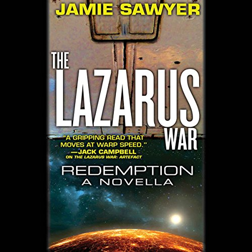 The Lazarus War: Redemption audiobook cover art