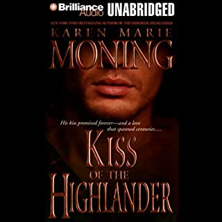 Kiss of the Highlander     Highlander, Book 4              Written by:                                                                                                                                 Karen Marie Moning                               Narrated by:                                                                                                                                 Phil Gigante                      Length: 11 hrs and 19 mins     7 ratings     Overall 4.7