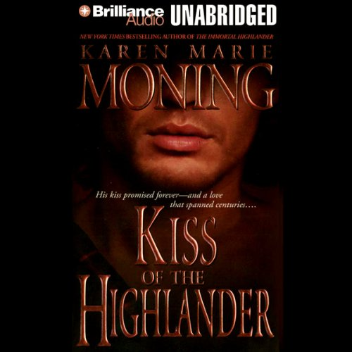 Kiss of the Highlander audiobook cover art