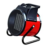 ZDVHM Calefactor Disipador de Calor Calentadores Eléctricos Ventilador Industrial con termostato Ajustable for Invernadero Taller Garaje Shed Flota Calentador