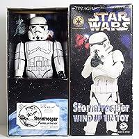 スターウォーズ ストームトルーパー STAR WARS STORMTROOPER 絶版品 大阪ブリキ資料室 ブリキ ロボット TOY ビンテージ 90S