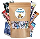 Supplement Sample Mix Box Bag – verschiedene Fitnessriegel + verschiedene Shakes diverser...