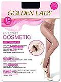 golden lady my secret 15 3p collant, 15 den, nero (nero 099a), small (taglia produttore:2 – s) (pacco da 3) donna