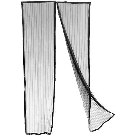 Mosquitera magnética para puertas y ventanas, 240 x 140 cm, antimosquitos
