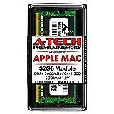 A-Tech 32GB RAM for Apple iMac 2019 & 2020, Mac Mini 2018 & 2020 | DDR4 2666MHz SODIMM PC4-21300 2Rx8 1.2V 260-Pin SO-DIMM Memory Upgrade Module