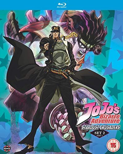 JoJos Bizarre Adventure Set Two: Stardust Crusaders Part One (Eps 1-24) - Blu-ray