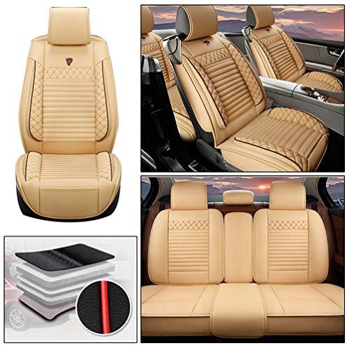 Handao-US Fundas de asiento de coche para Smart Forfour de 5 asientos, protección impermeable para