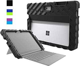 Gumdrop FoamTech Case with Pen Slot Designed for Microsoft Surface Go 2-in-1 Laptop and Tablet for Commercial, Business & Office Essentials- Black, Rugged, Shock Absorbing, Extreme Drop Protection