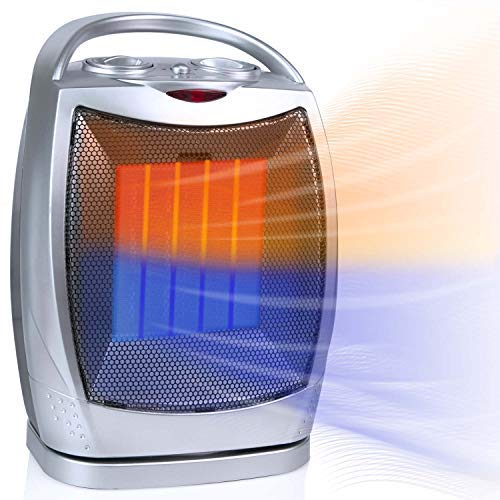optimus oscillating space heater - 9