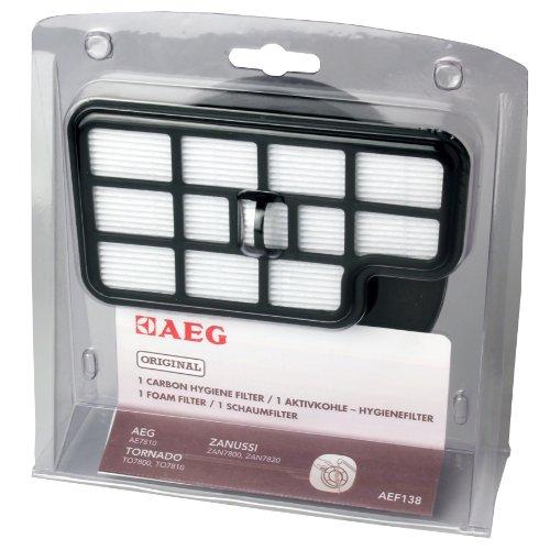 AEG AEF 138 Filter-Set für Cyclon Power/Aktivkohle- Hygiene- Filter, Schaumfilter