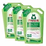 3 x detergente Aloe Vera rana 1,8 litros - Sensibilidad con Aloe Vera