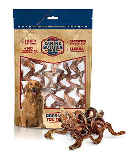 Canine Butcher Shop All-Natural Beef Bully Sticks...