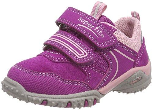 Superfit Baby Mädchen Sport4 Mini Sneaker, Pink (Dahlia Kombi), 25 EU
