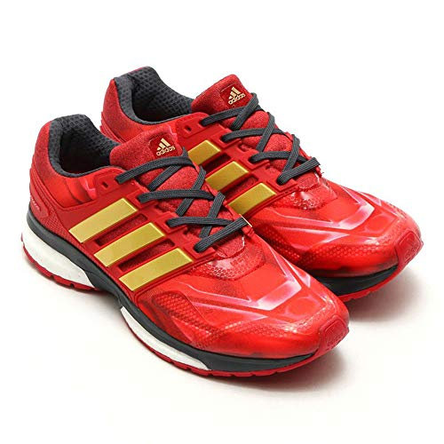 adidas Response Boost Techfit LTD Marvel Edition rot Trainers Laufschuhe Jogging (46 EU)