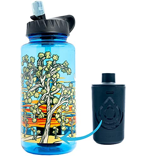 Epic Nalgene OG | Water Bottle with Filter | USA Made Bottle and Filter | Dishwasher Safe | Filtered Water Bottle | Travel Water Bottle | BPA Free Water Bottle | Removes 99.99% Tap Water Impurities