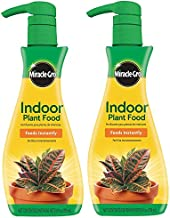 Miracle-Gro Indoor Plant Food, 8-Ounce (Plant Fertilizer) (2 Pack)
