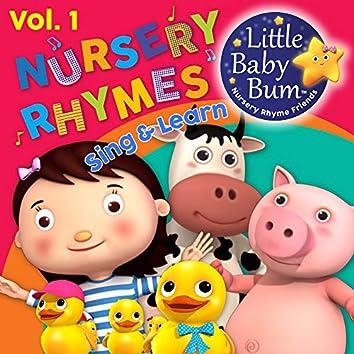 Nursery Rhymes & Children's Songs Vol. 1 (Sing & Learn with LittleBabyBum)