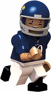 OYO College Football Building Brick Minifigure Jayhawks [University of Kansas]