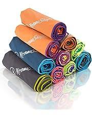NirvanaShape ® Microfiber Handdoek | 100% CO2-neutraal Transport | De Milieubewuste Handdoek voor Reizen, Strand, Yoga of als een Badhanddoek op het Strand of in de Sauna