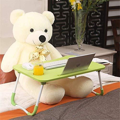 Equipo diario Escritorio ajustable para computadora portátil Nueva cama vieja Mesa de computadora Escritorio Pequeño y perezoso Dormitorio de estudiantes Estudio plegable Mesa de comedor para niños
