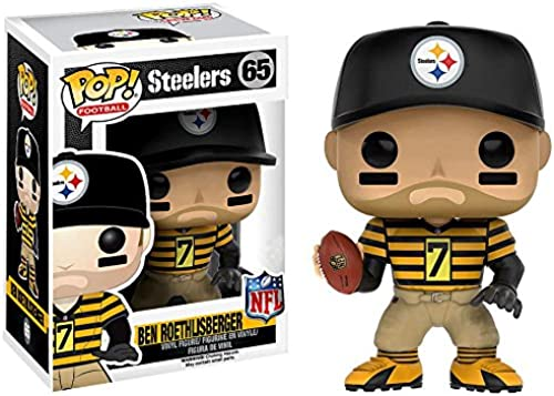 Funko POP  NFL Ben Roethlisberger Toys R Us Exclusive Steelers Throw Back Jersey Figure